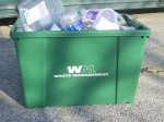 Recycle Bin Used by Waste Management