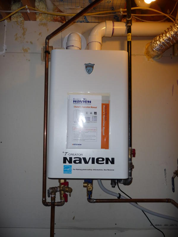 a tankless water heater story | global warming solutions group of