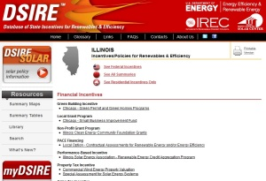 DSIRE:  Database of State Incentives for Renewables & Efficiency
